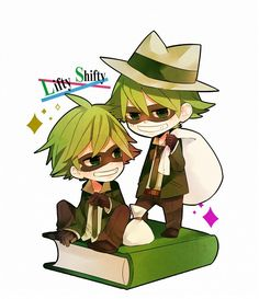 Shifty And Lifty Chiby