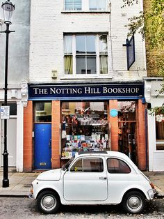 "The Notting Hill Bookshop (Famous place from the movie ""Notting Hill"") 