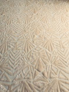Geometric Embroidery, Modern Embroidery, Embroidery Designs, Cut And Color, Lace Fabric, Quilt Stitching, Swatch, Machine Quilting, Quilt Making