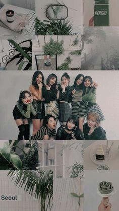 Kpop Girl Groups, Korean Girl Groups, Kpop Girls, Sea Wallpaper, Tumblr Wallpaper, Wallpaper Ideas, Iphone Wallpaper, Aesthetic Collage, Kpop Aesthetic