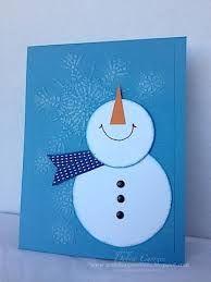 Resultado de imagem para easy christmas cards