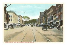Elm Street, Manchester, New Hampshire