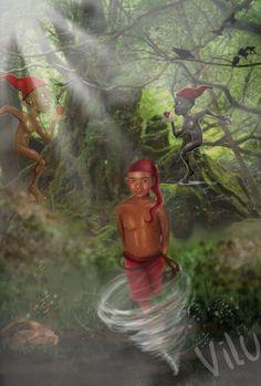 Saci Pererê - Personagem do folclore brasileiro - Hoje comemora-se o seu dia - Virginia  Lucia