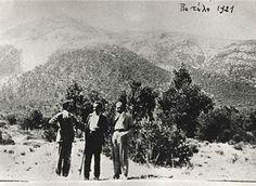 Kazantzakis on Mt. Penteli with Lefteris Alexiou and Aristidis Sfakianakis in 1921 Zorba The Greek, Magnum Opus, Martin Scorsese, Crete, Novels, Men, Outdoor, Outdoors, Outdoor Games