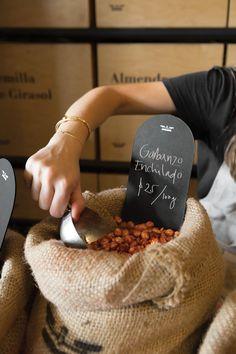 Bulk-buy health food shop Germina recalls traditional Mexican market stalls… http://www.we-heart.com/2015/01/14/germina-mexico-city/