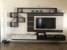 Living Room TV unit Living Room Units, Diy Home Decor, Flat Screen, The Unit, Furniture, Blood Plasma, Flatscreen, Home Furnishings, Dish Display
