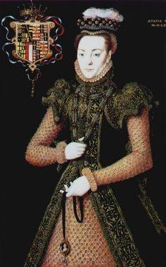 Catalina de Aragón. Hija pequeña de los Reyes Católicos y reina de Inglaterra.