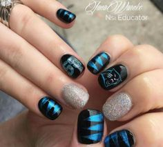 Carolina Panthers nails