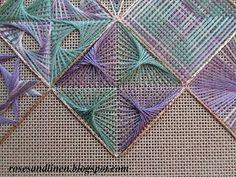 Punto Antico from Nordic Needle retreat sampler Hardanger Embroidery, Hand Embroidery Stitches, Hand Embroidery Designs, Diy Embroidery, Embroidery Techniques, Cross Stitch Embroidery, Embroidery Patterns, Cross Stitch Patterns, Bargello Needlepoint