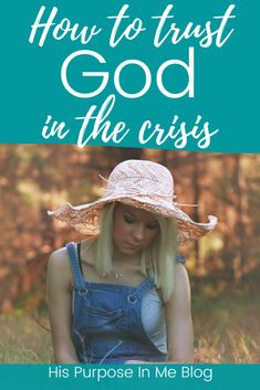 How to trust God in the crisis Christian Women, Christian Living, Christian Life, Christian Inspiration, Biblical Inspiration, Waiting On God, Learning To Trust, Praying To God, Seeking God