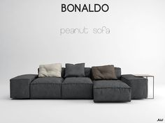 Peanut Sofa - Bonaldo on Behance