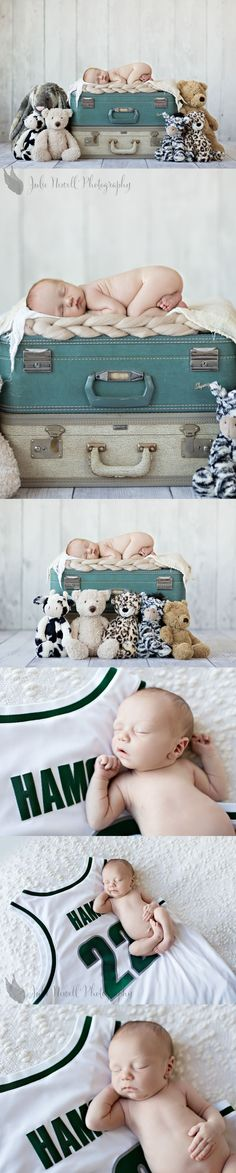 With FOXES :) Maybe we could find some suitcases. Does mom and dad have some?