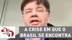"""Madureira: """"A crise em que o Brasil se encontra foi agravada com Dilma m..."""