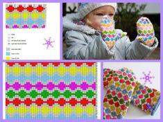 Photo Diy Baby Gifts, Knitting For Kids, Knitting Patterns, Gloves, Photo Wall, Crochet Hats, Wall Photos, Charts, Color