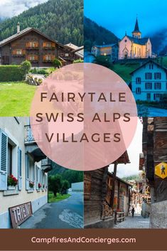 Swiss Mountain Villages You Have to See! These seven villages in the Alps of Switzerland are picture perfect destinations for your summer travel plans. Skip the crowds of Europe and hide out in one of these fairytale towns of the Swiss Alps! Switzerland Summer, Places In Switzerland, Visit Switzerland, Switzerland Itinerary, Switzerland Vacation, Europe Destinations, Travel Europe, Europe Packing, Spain Travel