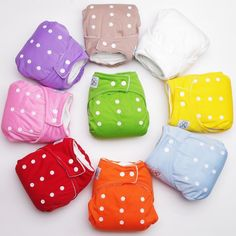 508f136795b6 1PCS Reusable Baby Infant Nappy Cloth Diapers Soft Covers Washable Free  Size Adjustable Fraldas Winter Summer