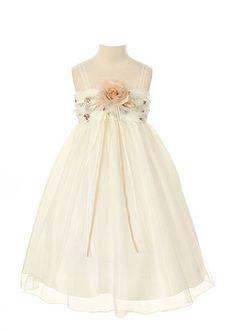 Kid's Dream Elegant Dress with Flower-ivory-6 Kids Dream,http://www.amazon.com/dp/B00DCMJBCQ/ref=cm_sw_r_pi_dp_4EXssb07EBKZN5FC