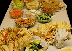 Vintage Christmas Buffet Party Food - News - Bubblews