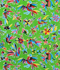 Shop  Lime Green Aztec Oilcloth Fabric at onlinefabricstore.net for $6.05/ Yard. Best Price & Service.