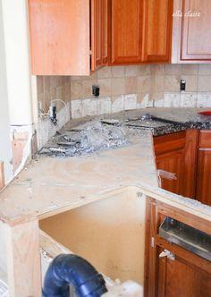 Kitchen Renovation | Demolition | Ella Claire