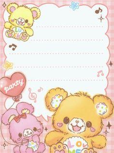 ❤Kawaii Love❤ ~Kawaii memo paper