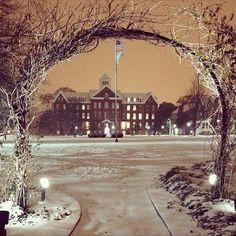 Spelman College 2014 snow day
