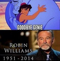 """""""Comedy is acting out optimism."""" - Robin Williams (July 21, 1951 - August 11, 2014)"""