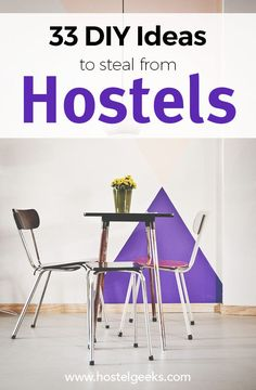 Ultimate List of +105 Design Hostels Staying on budget doesn't mean you have to miss out on fantastic design and style. #bestdesignhostels #besthostelsintheworld #besthostelseurope