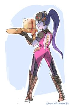 See more 'Overwatch' images on Know Your Meme! Overwatch Fan Comics, Overwatch Widowmaker, Overwatch Memes, Overwatch Fan Art, Fanart Overwatch, Kaito, Video Game Art, Video Games, Overwatch Community