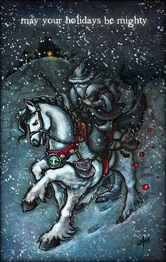 May Your Holidays Be Mighty! by amylikestodraw, via Flickr