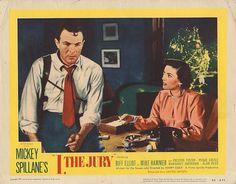 Lobby Card from the film I, The Jury