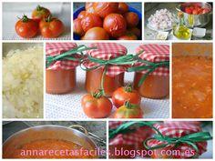 Anna recetas fáciles: Tomate frito casero (salsa de tomate)
