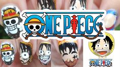 One Piece Monkey D Luffy Nail Art | モンキー・D・ルフィ #nails #tutorial #nailtutorial #youtube #OnePiece #luffy #anime #animenails #manganails #manga #hd