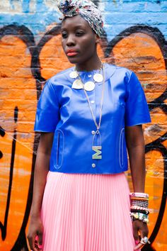 1 Girl, 4 Looks: A Star Stylist Shows Off Her Fearlessly Fab Wardrobe #refinery29