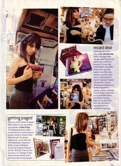 amazing old Seventeen article on Sofia Coppola! (p. IV)