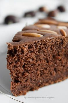 Torta al cacao con farina di Castagne