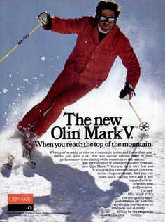SKIING Jan 1975 - Olin - pugski Ski Magazine, Alpine Skiing, Vintage Ski, Superhero, Shorts, Tops, Short Shorts, Hot Pants