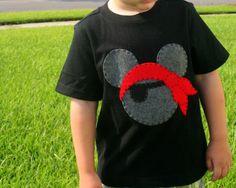 pirate mickey shirt