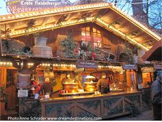 Christmas Market #Heidelberg, #Germany Dec 4 2012.  This vendor sells gluhwein (hot spiced wine)--it is awesome!