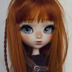 Pippa & Ichigo.. Adorable redheaded doll #pullip