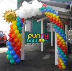 Balloon, arco de globos   www.facebook.com/funnyballooon @ Guatemala