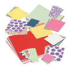 3 Lbs. Solid & Pattern Mix Scrap Pack - OrientalTrading.com