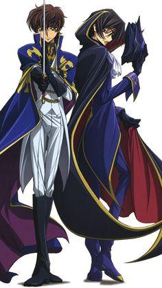 Suzaku and Lelouch, Code Geass