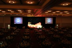 The Oregon Ballroom can be split into four different sections.