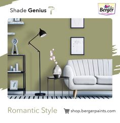 Create a feeling of imagination and creativity around the house by painting your walls. Bring a change of atmosphere at home with some interesting wall painting ideas for your living room. Romantic wall paint colours don't have to be soft and sweet, they can be rich jewel tones like burgundy and purple or dramatic colours like charcoal grey and dark brown. A stunning accent living room wall colour is the perfect backdrop for a chandelier or hanging pendants.