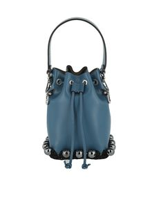 9767dd1fad Fendi Mon Trésor Embellished Mini Bucket Bag