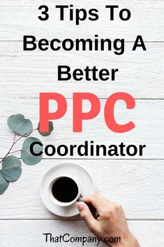 Becoming a PPC Coordinator comes with a lot of responsibility. If you have never done it before then it can be intimidating. You must learn how to operate Pay Per Click Advertising, Advertising Tools, Online Advertising, Seo Keywords, Reputation Management, Google Ads, Management Tips, Search Engine Optimization, Pinterest Marketing