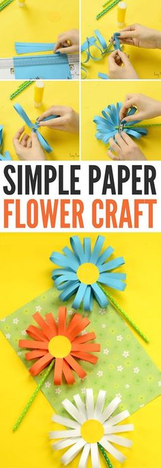 A good way to teach your kids useful things, while being entertained is paper crafts. Paper crafts is usually so easy for your kids to start with, they also cost almost nothing. All you need is some old papers.What are you waiting for? You should start your paper crafts with your kids right now. Here are 15 DIY paper crafts tutorials that will help you to get started. #artsandcraftswithpaper,