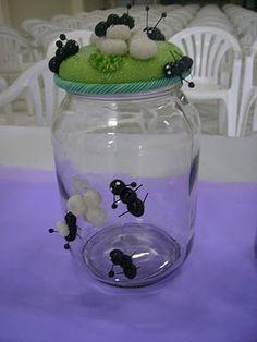 Pote formigas