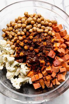 Vegetarian Dinners, Vegan Dinner Recipes, Delicious Vegan Recipes, Whole Food Recipes, Vegetarian Recipes, Healthy Recipes, Vegan Dinners, Healthy Eats, Healthy Foods